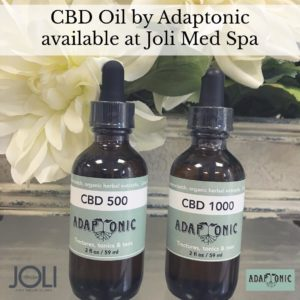 CBD Oil 500 and 1000 by Adaptonic from Joli Medical Spa
