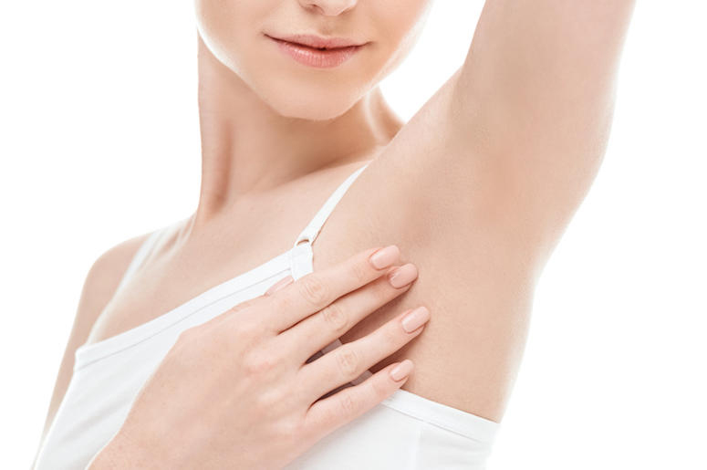 You can eliminate shaving and control excessive sweating at Joli Med Spa